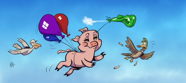 Airborne Bacon