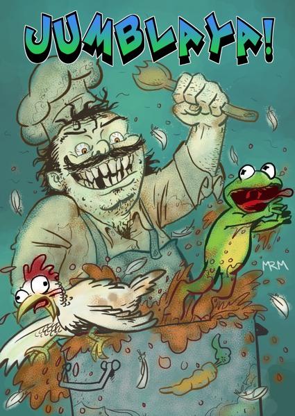 Jumblaya! #1 Cover